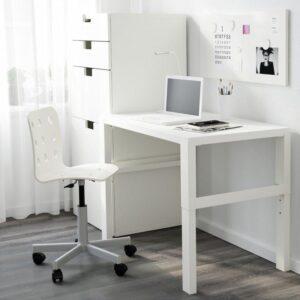 ПОЛЬ Письменный стол белый 96x58 см - Артикул: 092.784.23