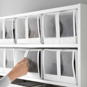 СКУББ Коробка для обуви белый 22x34x16 см - Артикул: 703.751.23