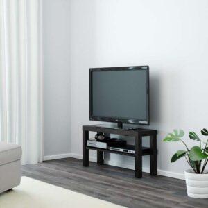 ЛАКК Тумба под ТВ, черный - 90x26 см > Артикул: 604.199.38
