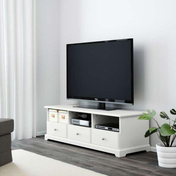 ЛИАТОРП Тумба под ТВ, белый - 145x49x45 см > Артикул: 303.833.75