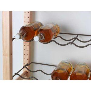 ИВАР Полка для бутылок серый 83x30 см - Артикул: 403.795.56