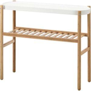 САТСУМАС Пьедестал для цветов бамбук/белый 70 см - Артикул: 403.719.75