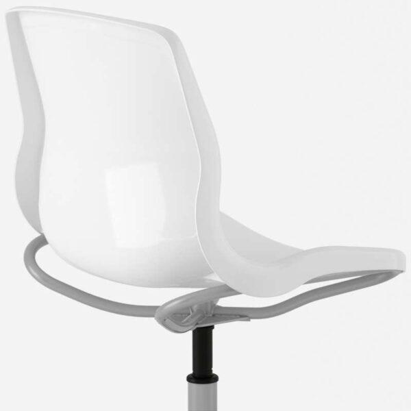 СНИЛЛЕ Рабочий стул белый - Артикул: 192.513.43