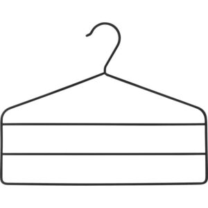 СТРЮКИС Вешалка для брюк черный - Артикул: 503.890.60