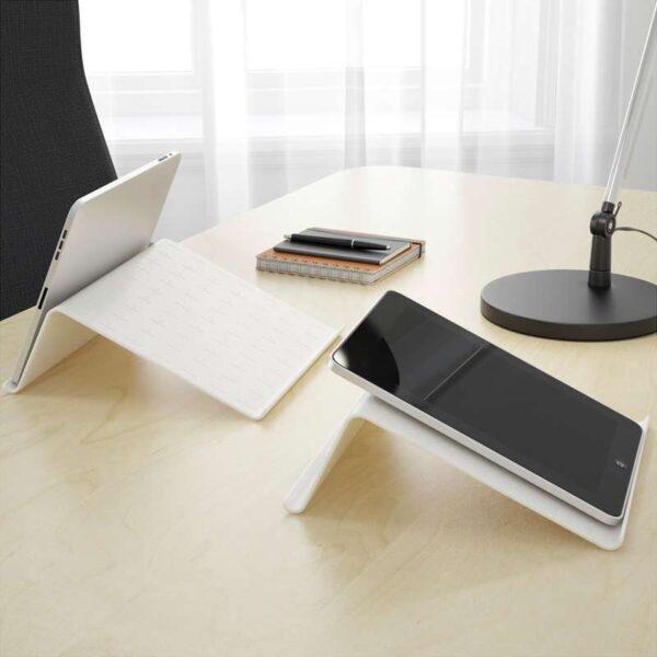 ИСБЕРГЕТ Подставка для планшета белый 25x25 см - Артикул: 503.836.47