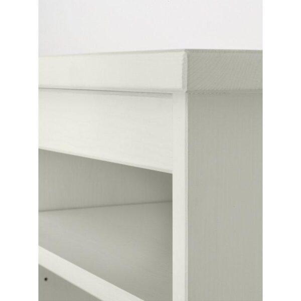 ХЕМНЭС Дополнительный модуль для стола белая морилка 152x63 см - Артикул: 203.847.90