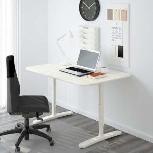 БЕКАНТ Письменный стол белый 120x80 см - Артикул: 992.513.15