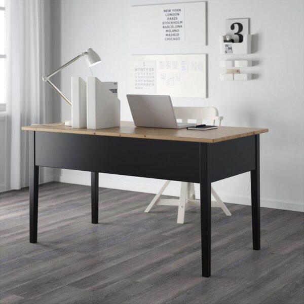 АРКЕЛЬСТОРП Письменный стол черный 140x70 см - Артикул: 403.849.73