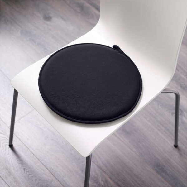 ЦИЛЛА Подушка на стул черный 34 см - Артикул: 103.699.26