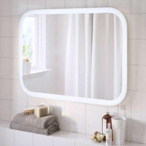 СТОРЙОРМ Зеркало с подсветкой белый 80x60 см - Артикул: 203.690.73