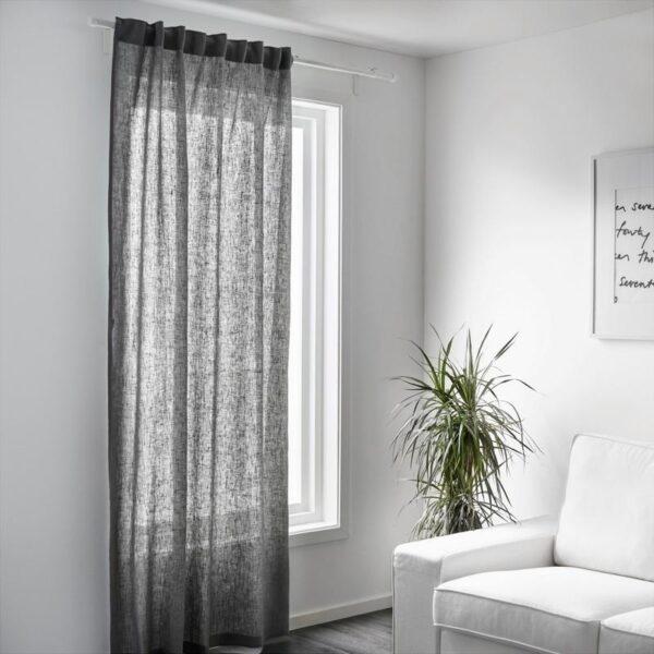 АЙНА Ткань серый 150 см - Артикул: 404.209.28