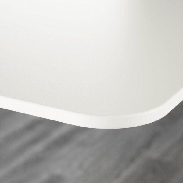 БЕКАНТ Углов письм стол левый белый 160x110 см - Артикул: 292.784.55