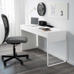 МИККЕ Письменный стол белый 142x50 см - Артикул: 603.739.21