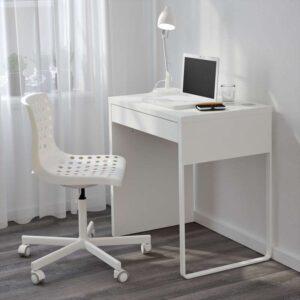 МИККЕ Письменный стол белый 73x50 см - Артикул: 203.739.23