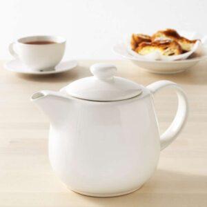 ВАРДАГЕН Чайник заварочный белый с оттенком 1.2 л - Артикул: 503.726.20