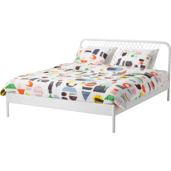 НЕСТТУН Каркас кровати, белый 140x200 см. Артикул: 692.110.57