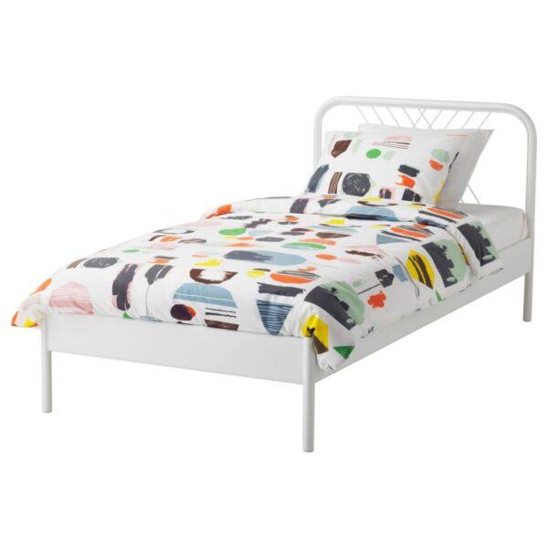 НЕСТТУН Каркас кровати, белый 90x200 см. Артикул: 792.782.45