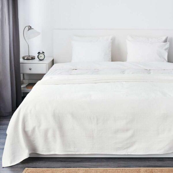 ИНДИРА Покрывало белый 230x250 см - Артикул: 803.962.62