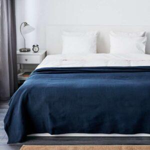 ИНДИРА Покрывало темно-синий 230x250 см - Артикул: 003.962.61