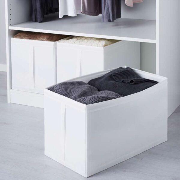 СКУББ Коробка белый 31x55x33 см - Артикул: 603.751.09