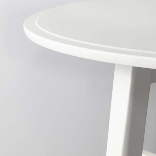 КРАГСТА Журнальный стол белый 90 см - Артикул: 103.831.59