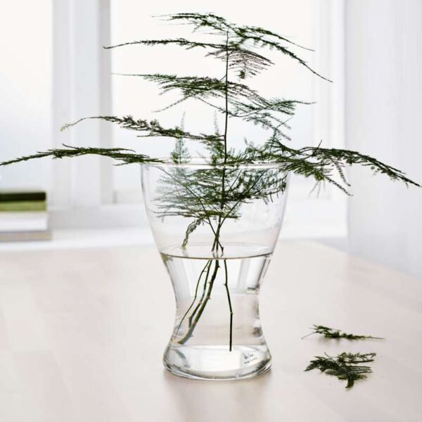 ВАСЕН Ваза прозрачное стекло 20 см - Артикул: 503.717.34