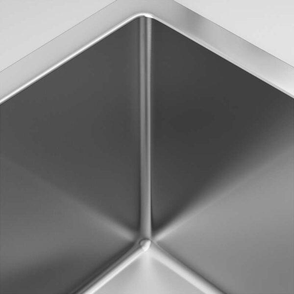 НОРРШЁН Одинарная врезная мойка нержавеющ сталь - Артикул: 392.430.45
