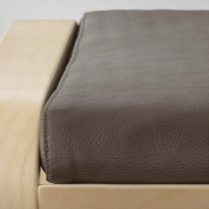 ПОЭНГ Табурет для ног березовый шпон/Глосе темно-коричневый - Артикул: 492.816.83