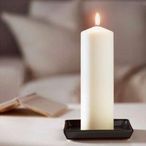 ФЕНОМЕН Неароматич свеча формовая естественный 25 см - Артикул: 703.716.67