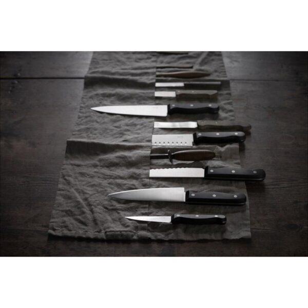 ВАРДАГЕН Нож для овощей темно-серый 16 см - Артикул: 803.834.48