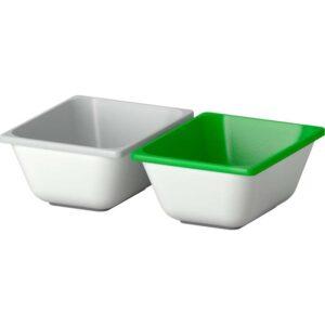 ВАРЬЕРА Контейнер зеленый/серый 10x12 см - Артикул: 903.829.00