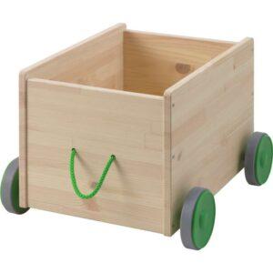 ФЛИСАТ Контейнер д/игрушек с колесиками - Артикул: 703.648.84
