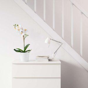 ФЕЙКА Искусственное растение в горшке Орхидея белый 9 см - Артикул: 403.719.61