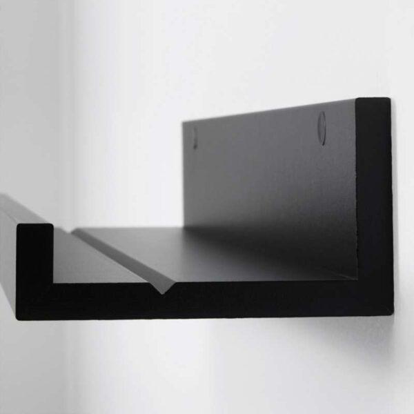 МОССЛЭНДА Полка для картин черный 55 см - Артикул: 403.718.76