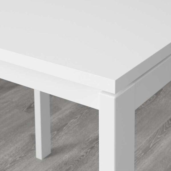 МЕЛЬТОРП Стол белый 125x75 см - Артикул: 792.272.89