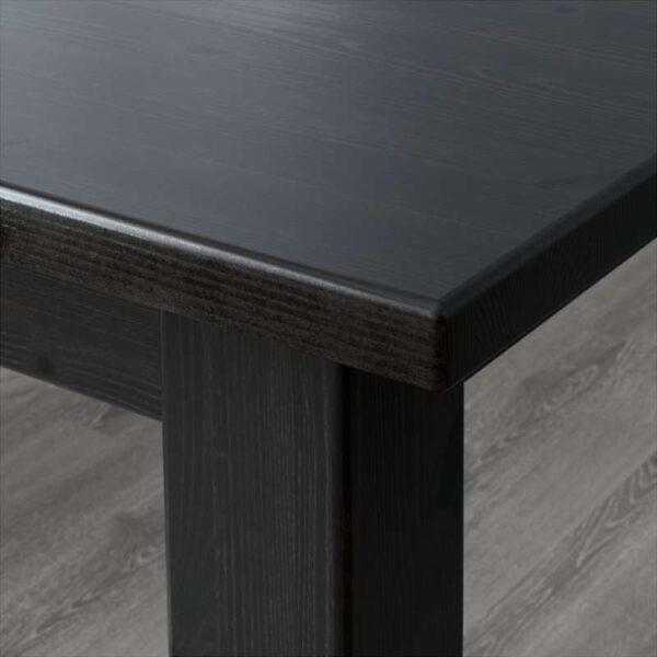 СТУРНЭС Барный стол коричнево-чёрный 127x70 см - Артикул: 603.714.13