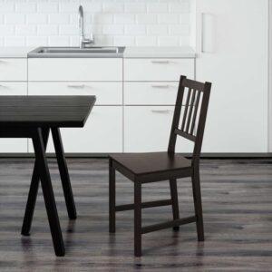 СТЕФАН Стул коричнево-чёрный - Артикул: 603.609.47