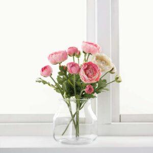 СМИККА Цветок искусственный лютик/розовый 52 см - Артикул: 503.805.35