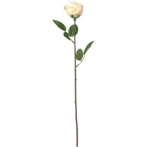 СМИККА Цветок искусственный Роза/белый 52 см - Артикул: 903.805.38