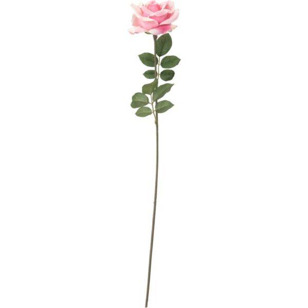 СМИККА Цветок искусственный роза/розовый 75 см - Артикул: 403.805.50