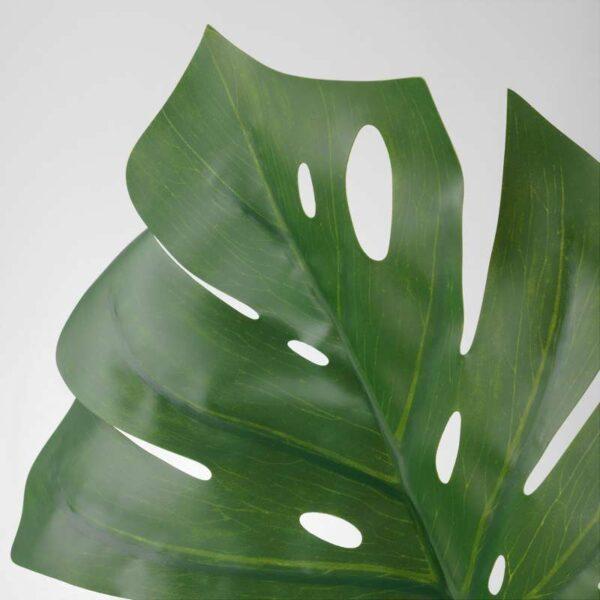 СМИККА Искусственный листок монстера/зеленый 80 см - Артикул: 003.717.41