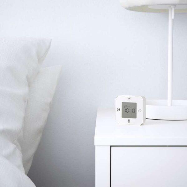 КЛОККИС Часы/термометр/будильник/таймер белый - Артикул: 203.352.38