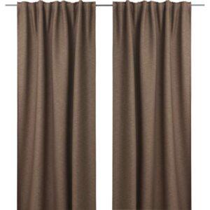 ВИЛБОРГ Гардины, 1 пара коричневый 145x300 см - Артикул: 403.802.01