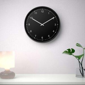 БУНДИС Настенные часы черный - Артикул: 703.352.26
