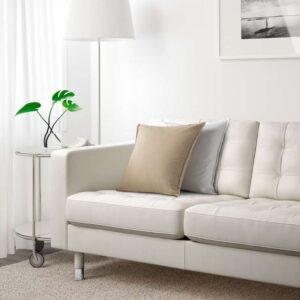 ЛАНДСКРУНА 3-местный диван-кровать, Гранн Бумстад белый металл. Артикул: 192.489.11