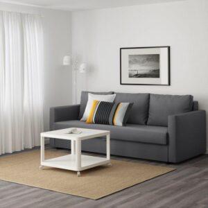 ФРИХЕТЭН 3-местный диван-кровать, Шифтебу темно-серый. Артикул: 604.115.55
