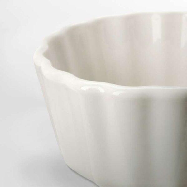 ВАРДАГЕН Форма для открытого пирога белый с оттенком 11 см - Артикул: 503.724.08