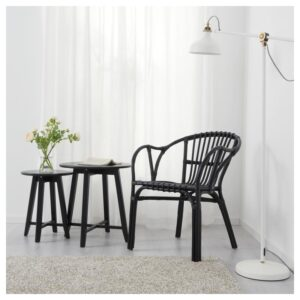 ХОЛЬМСЕЛЬ Кресло черный - Артикул: 304.261.67