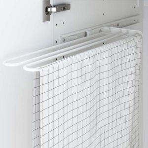 УТРУСТА Штанга для полотенца белый 16 см - Артикул: 103.909.37