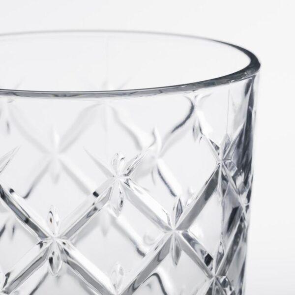 ФЛИМРА Стакан прозрачное стекло/с рисунком 42 сл - Артикул: 203.790.34